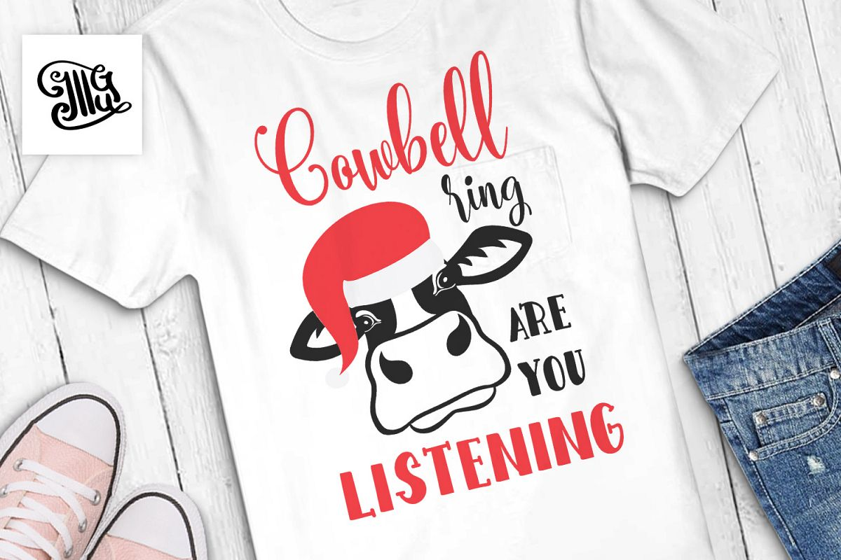 Cowbell ring are you listening - Christmas kids example image 1