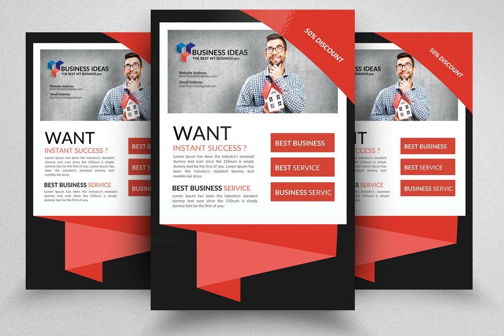 Website Designer Flyer Templates example image 1