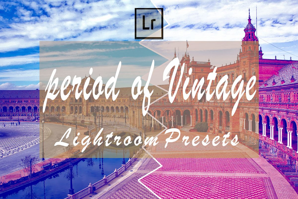 Period of Vintage Lightroom Presets example image 1