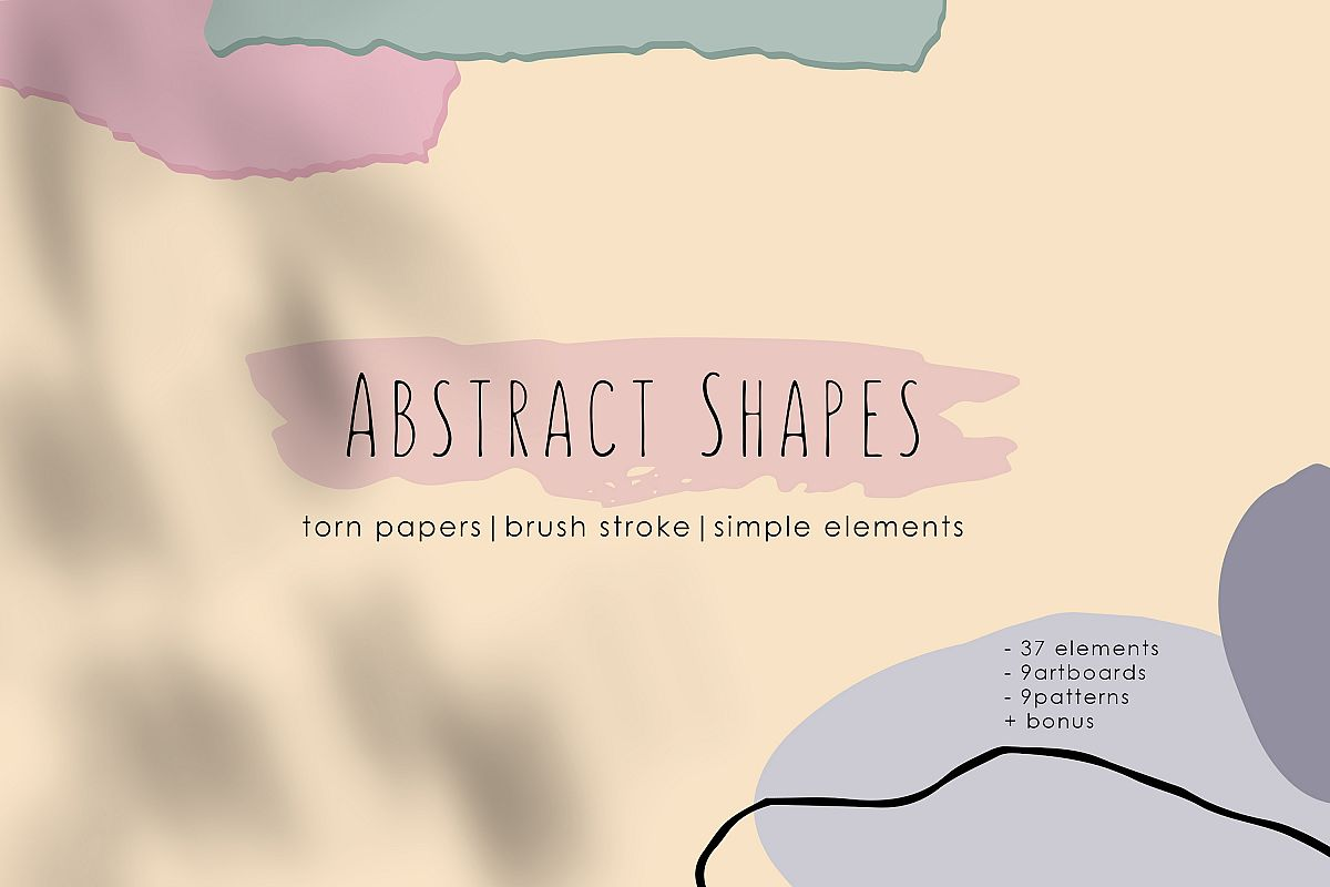 Abstract Shapes. Graphic Collection example image 1