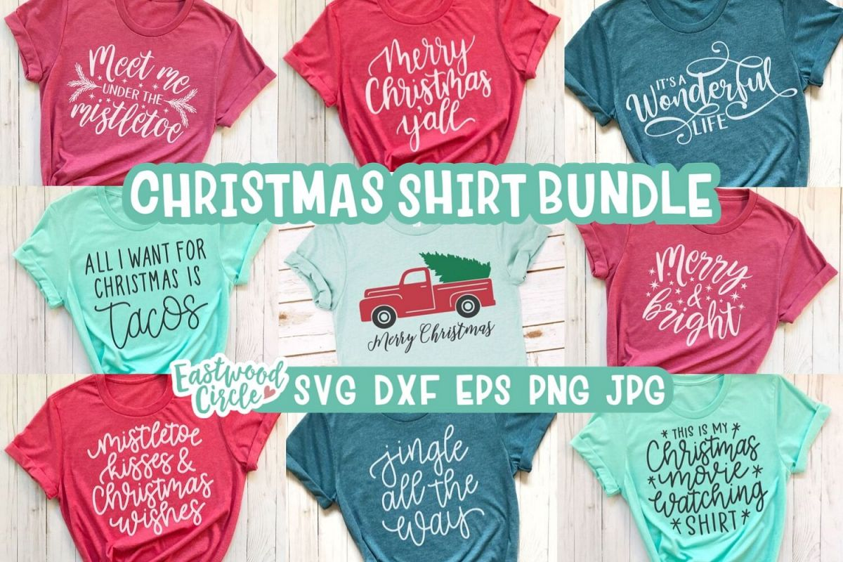 Christmas SVG Bundle - Cut Files for Crafters example image 1