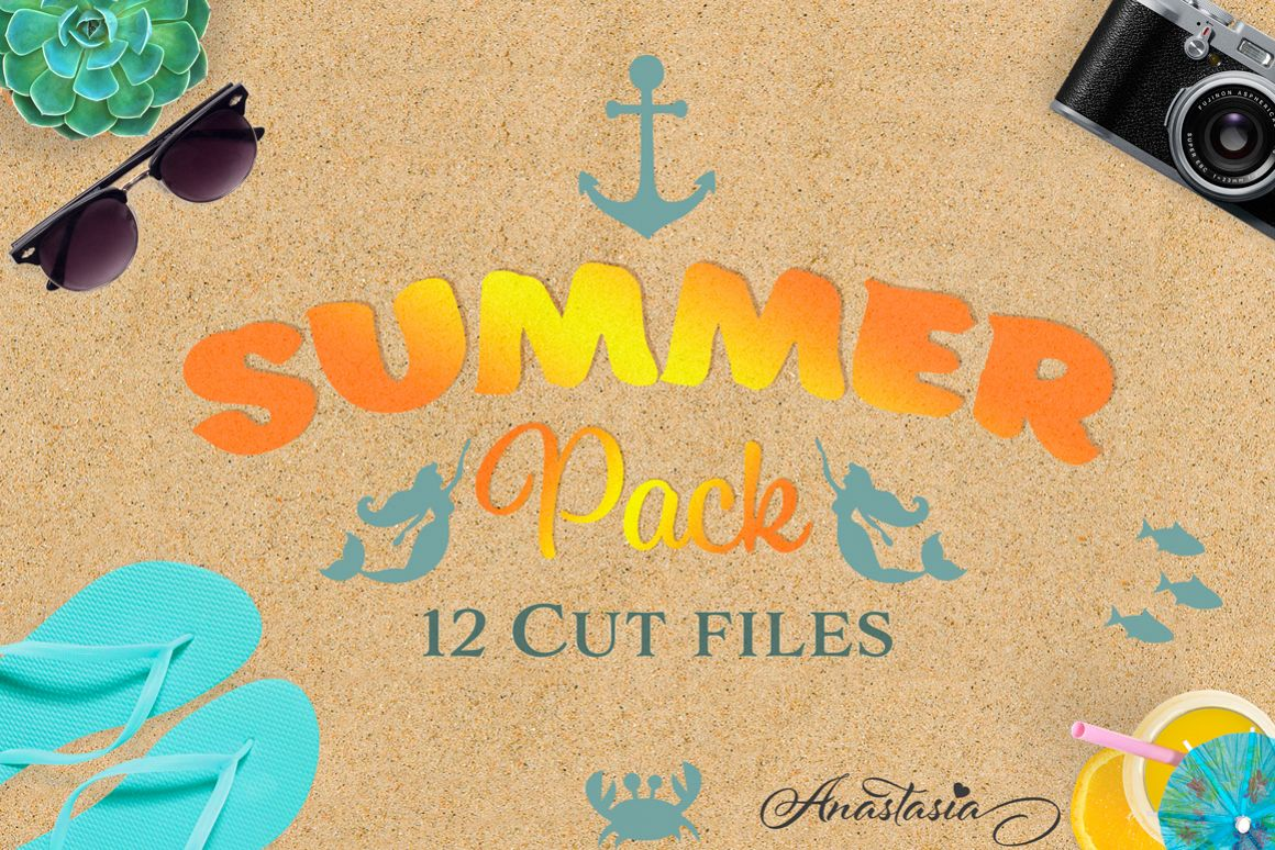 The Summer SVG Cut Files Pack - Limited Promotion! example image 1