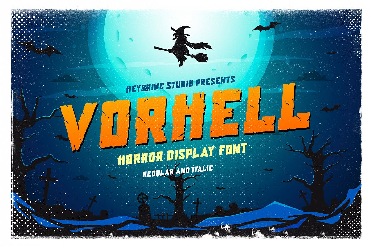 Vorhell Horror Font example image 1
