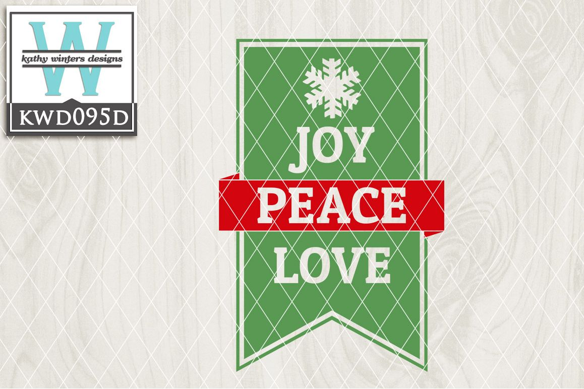 Christmas Cutting File KWD095D example image 1