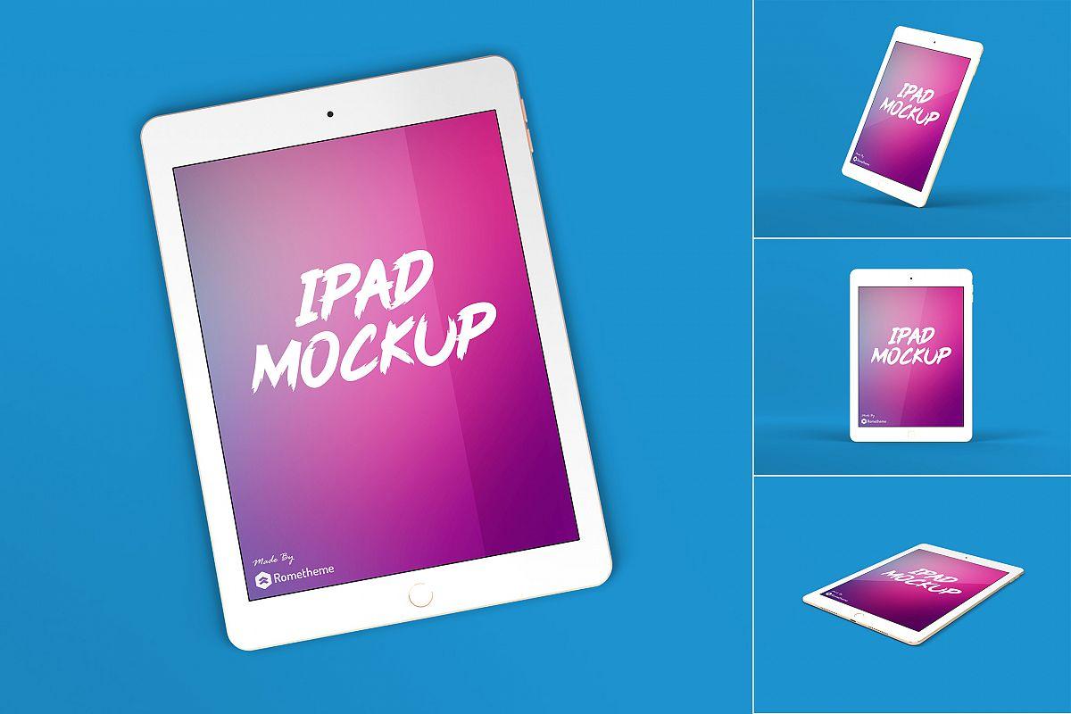 Ipad Tablet Screen Mockup vol. 01 example image 1