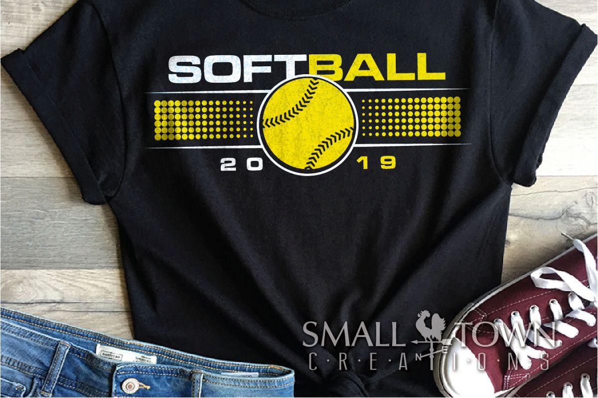 Softball, Ball sport, Sports, Team logo, PRINT, CUT & DESIGN example image 1