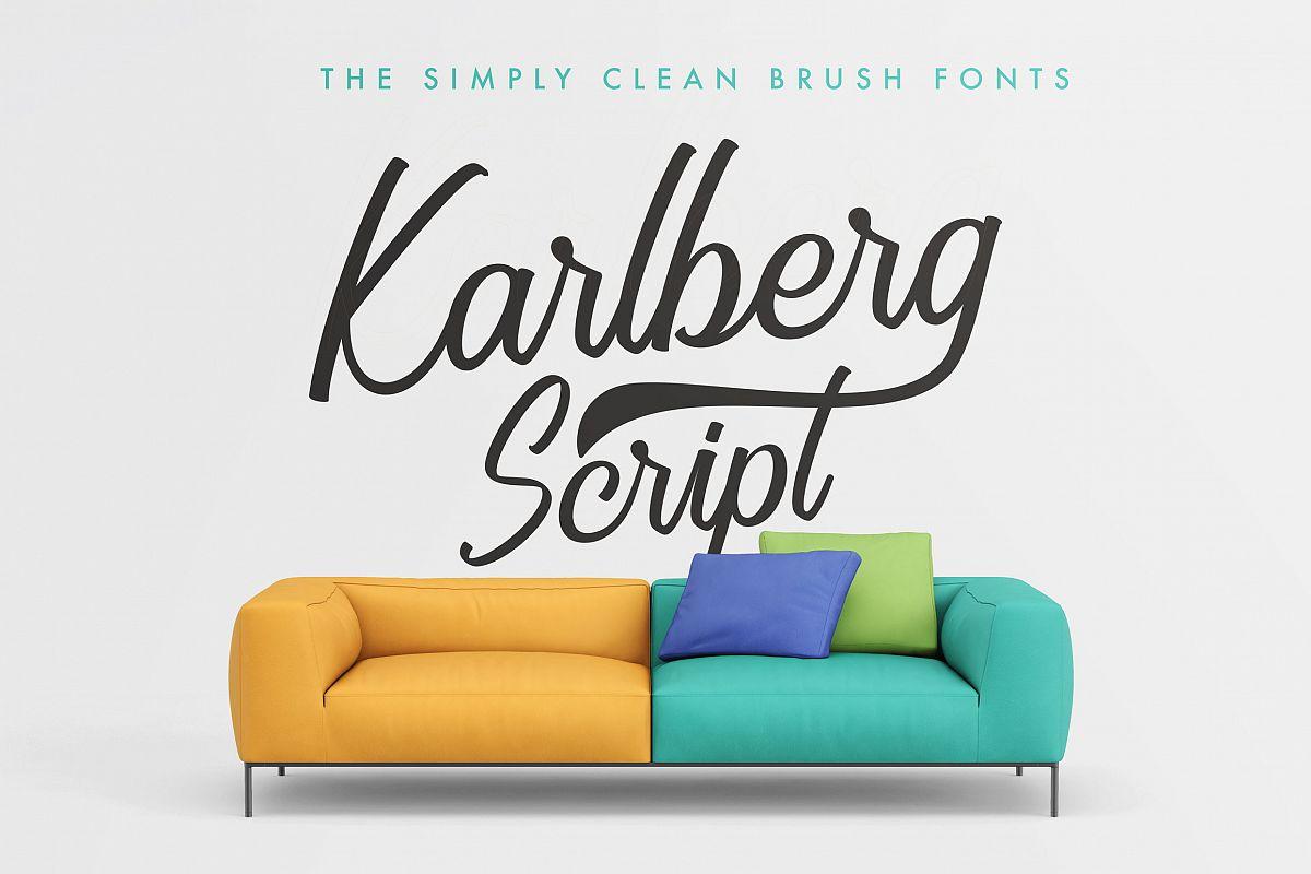 Karlberg Script example image 1