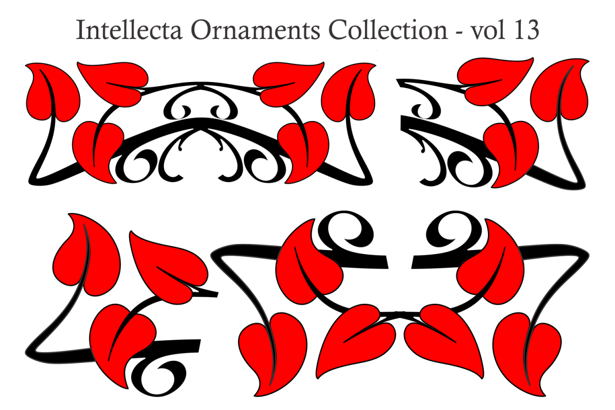 Intellecta Ornaments Collection 13 example image 1