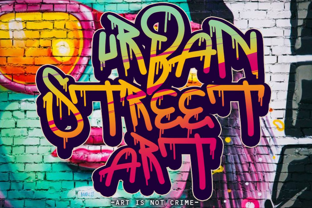 THE BOOMBER GRAFFITI FONT example image 1