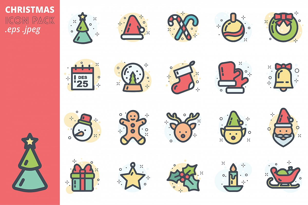 Christmas Icon Pack example image 1