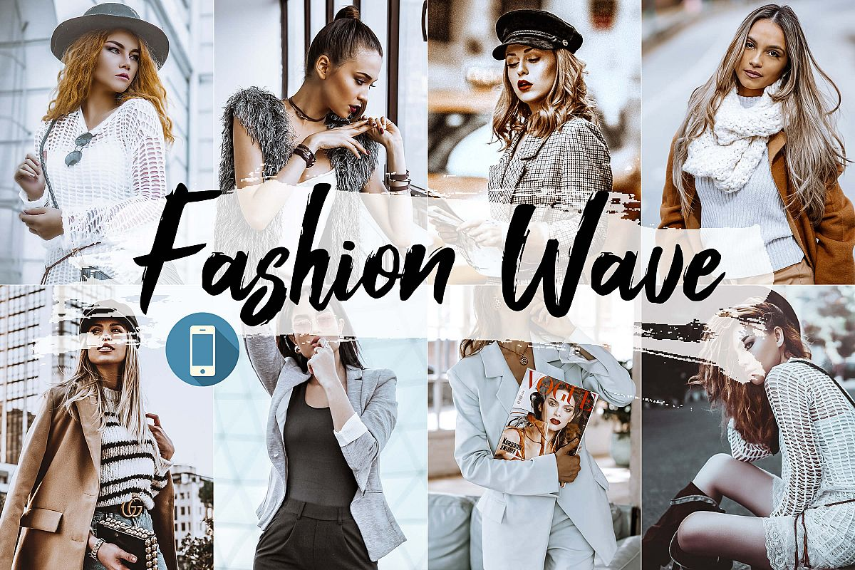 05 Fashion Wave Mobile Lightroom Presets, Vogue photography example image 1