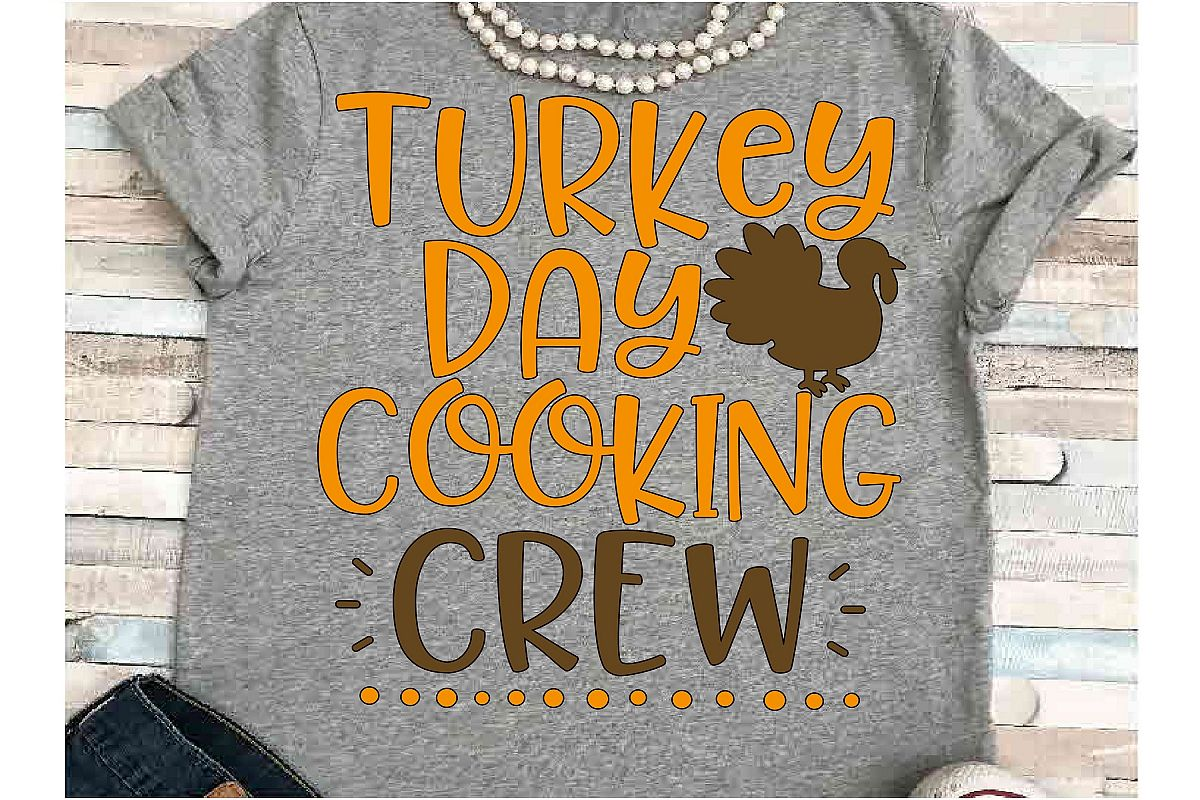 Cooking svg DXF JPEG Silhouette Cameo Cricut Thanksgiving example image 1