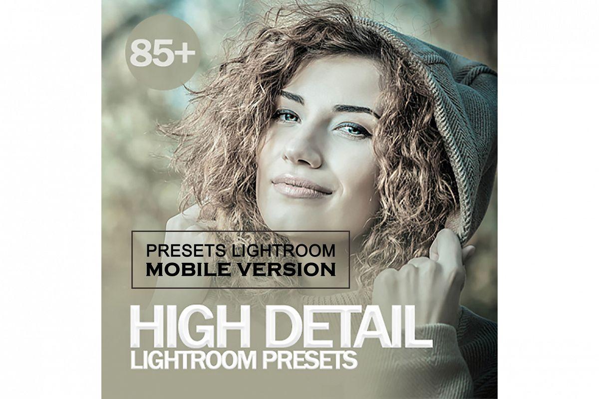 High Detail Lightroom Mobile Presets example image 1