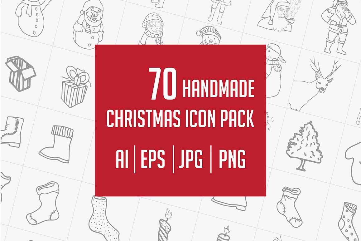 Christmas Icons Pack example image 1