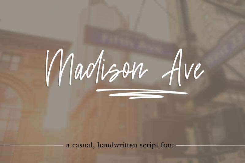 Madison Avenue example image 1