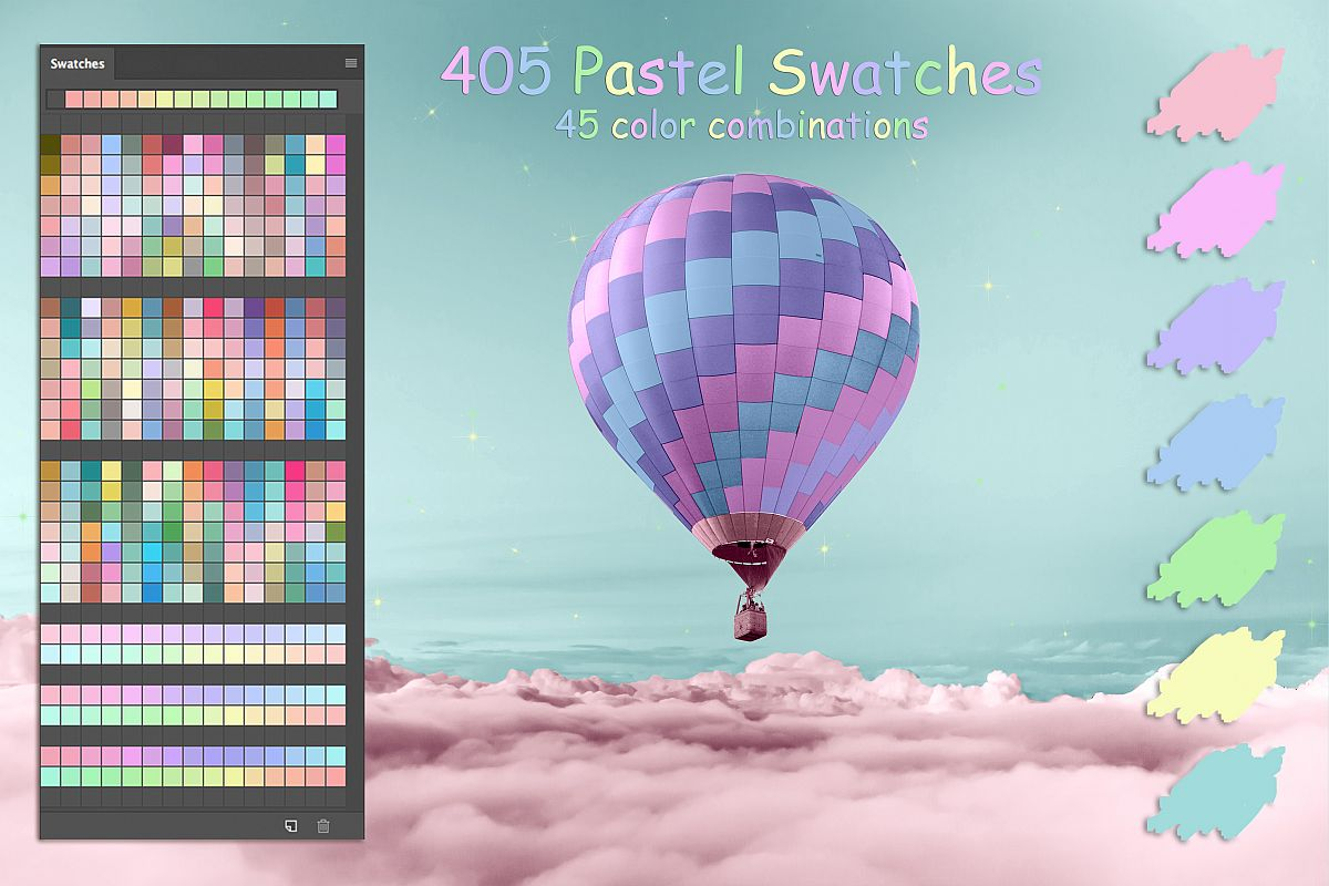 Pastel Colors Ps Swatches example image 1