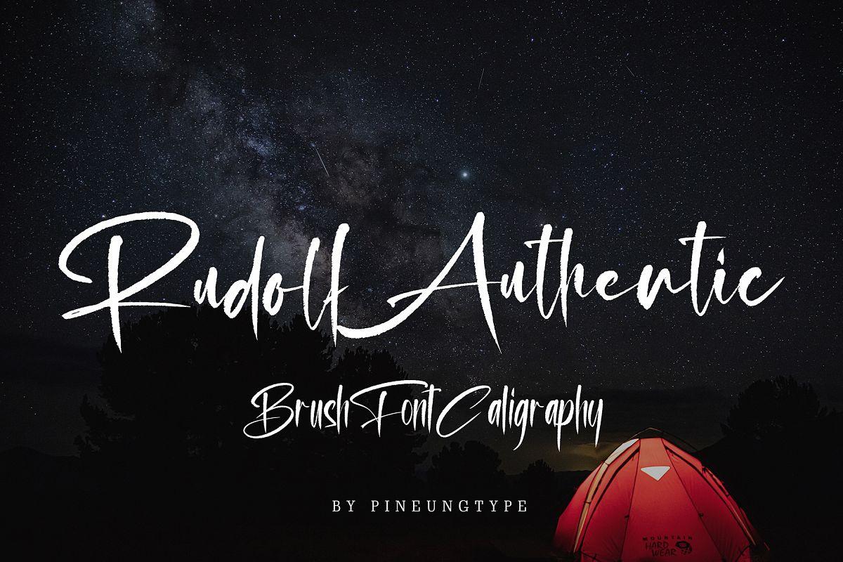 Rudolf Authentic example image 1