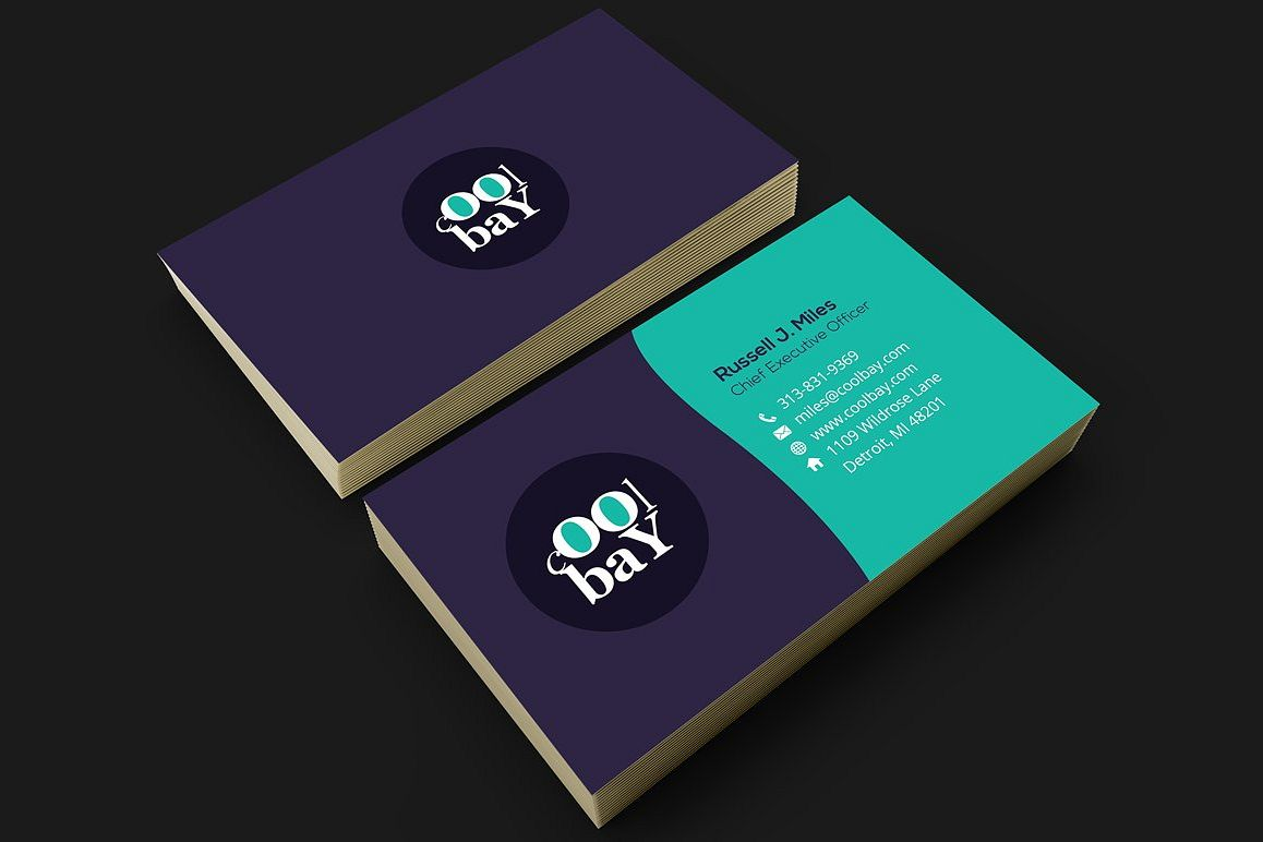 Modern corporate business card by fancy design bundles modern corporate business card example image colourmoves
