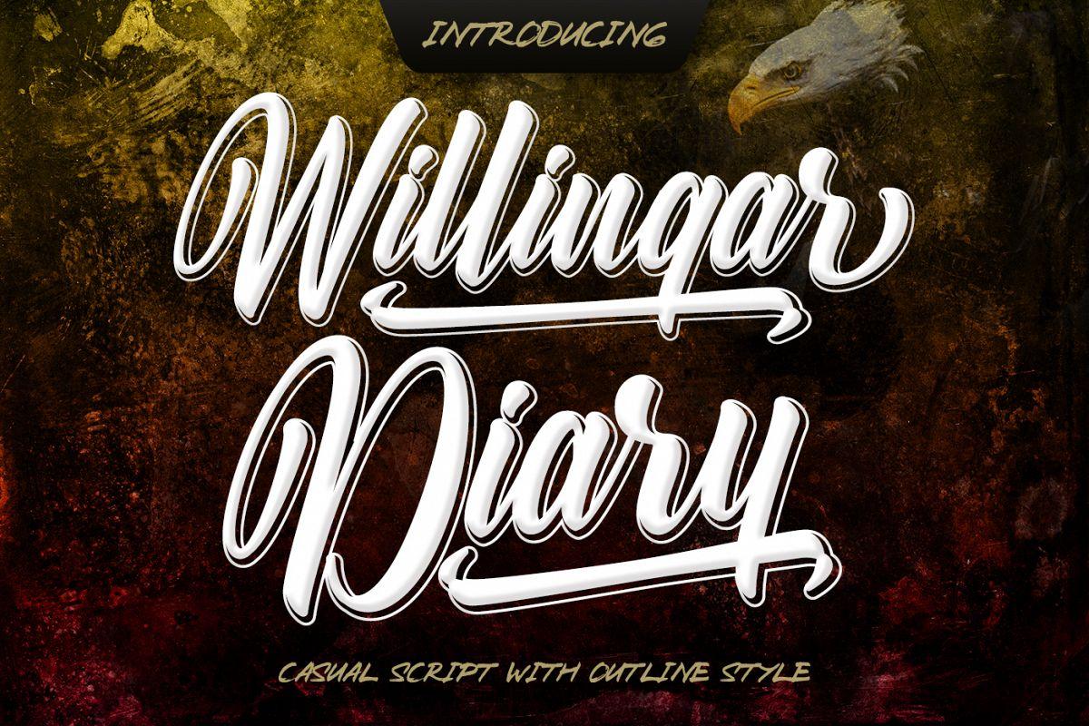 Willingar Diary example image 1