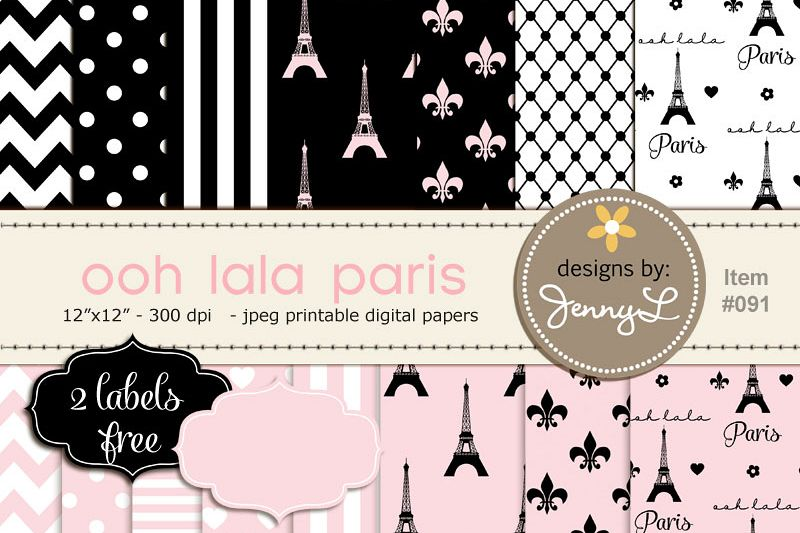 picture regarding Free Printable Backgrounds for Paper called Paris Electronic Paper, Eiffel Tower Printable Electronic Heritage Papers, Fleur,