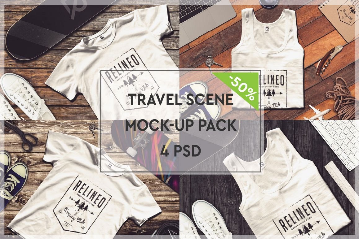 Travel Mock-up Pack #4 example image 1