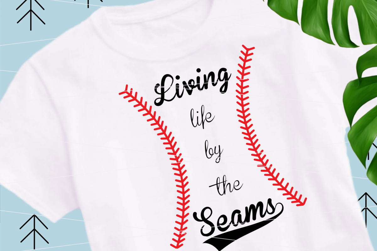 Baseball seams svg example image 1