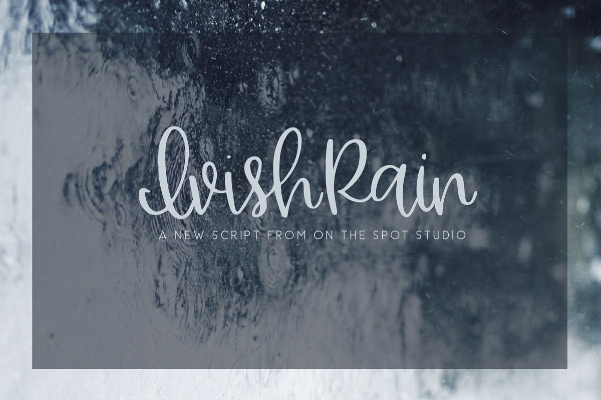 Ivish Rain example image 1