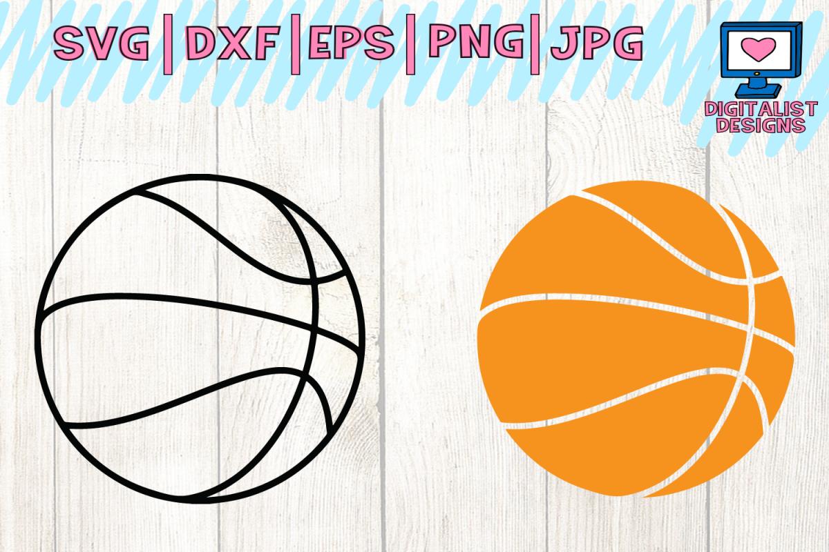 Basketball Svg Basketball Clipart Basketball Vector
