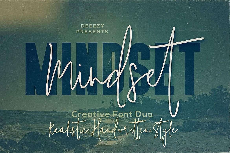 Mindset Font Duo example image 1