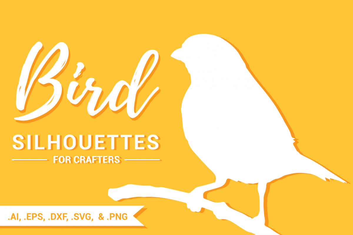 Bird Silhouettes for Crafters example image 1