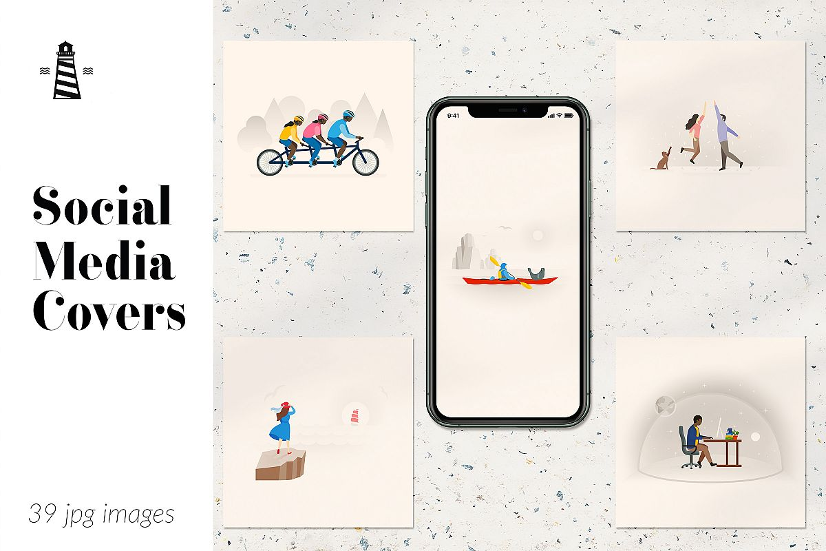 Instagram Post Covers, Instagram Story Templates example image 1