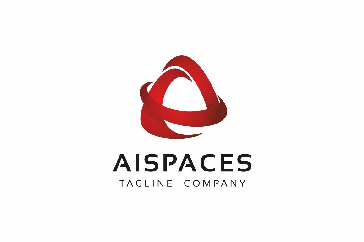 Aispace A Letter Logo example image 1