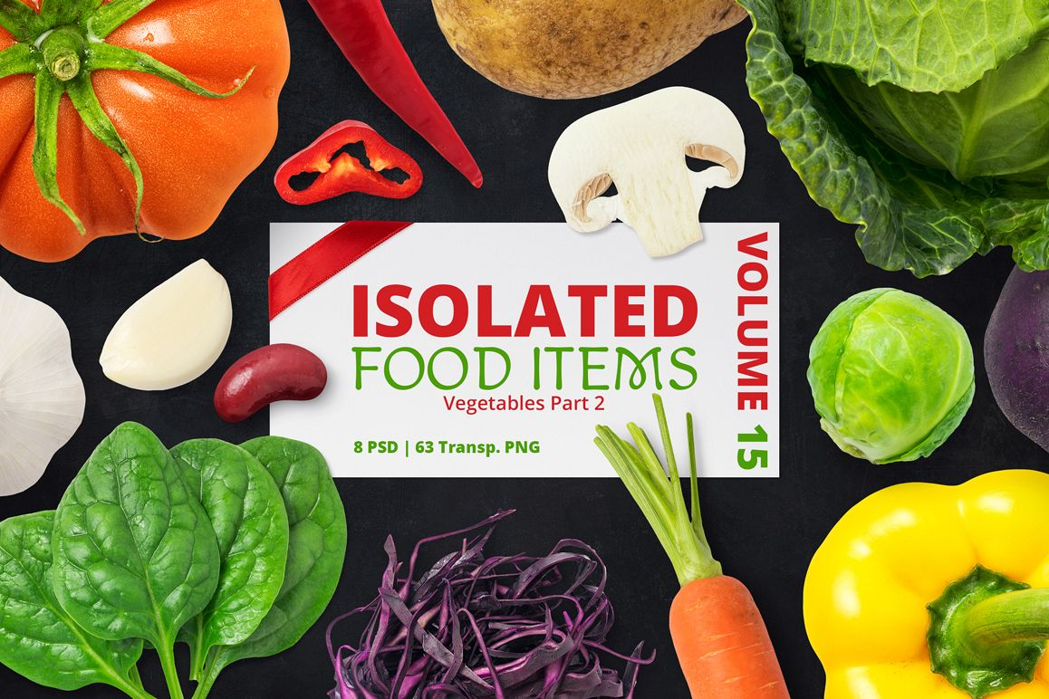 Isolated Food Items Vol.15 example image 1