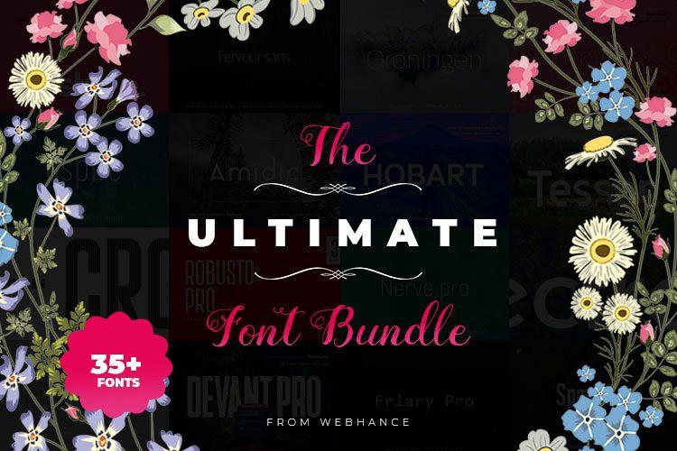 Ultimate Premium Font bundle example image 1