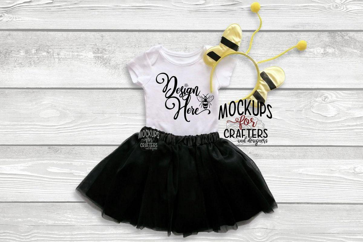 Baby Bodysuit, baby one piece - Bumblebee accessories example image 1
