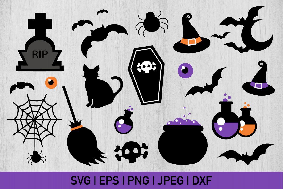 Scary Halloween Bundle example image 1
