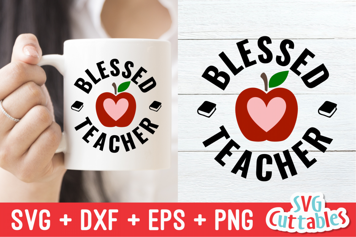 Blessed Teacher | Cut File example image 1