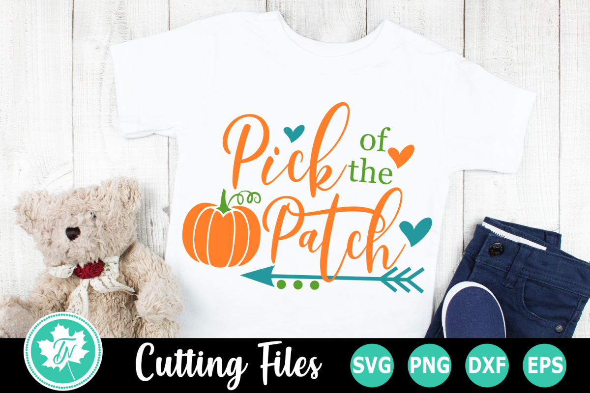 Pick of the Patch - A Fall SVG Cut File example image 1