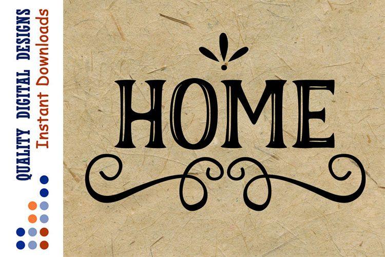 Home Decor Svg file Home sign svg Farm example image 1