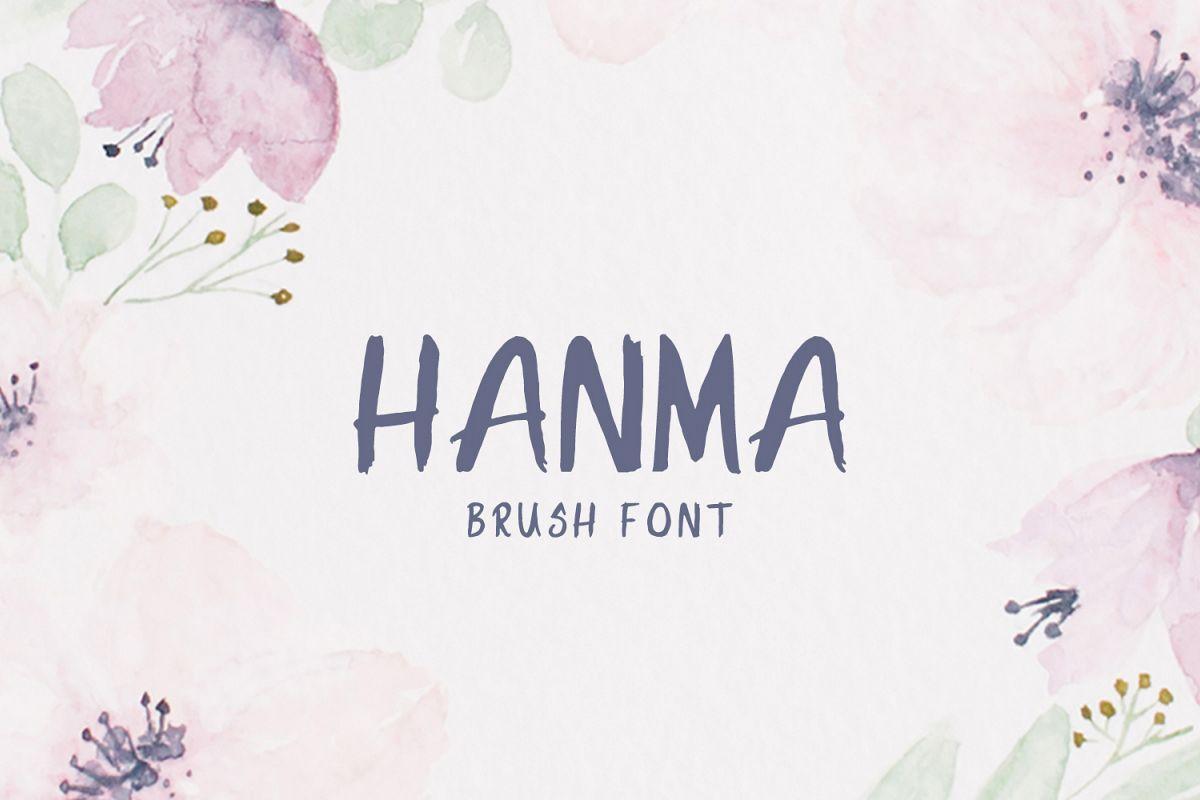 Hanma Brush Font example image 1