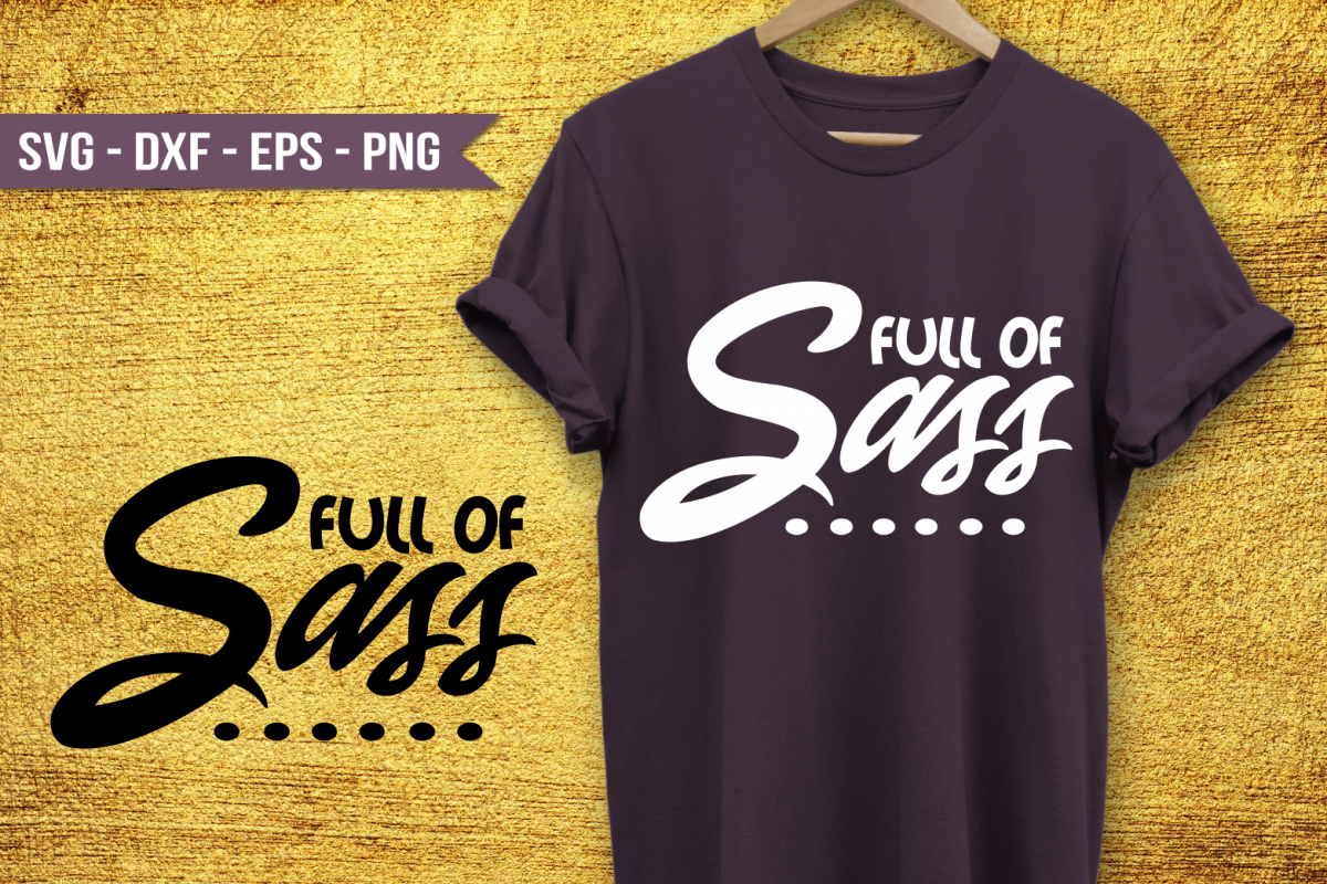 Full of sass SVG example image 1