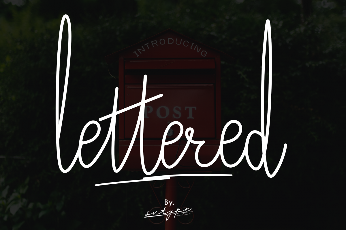 Lettered Signature Script example image 1