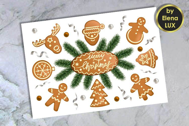 viewing product merry christmas greeting card