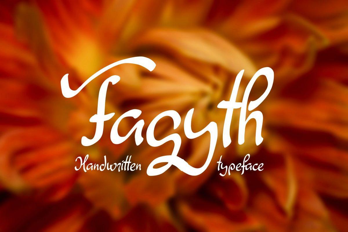 Fagyth Font example image 1