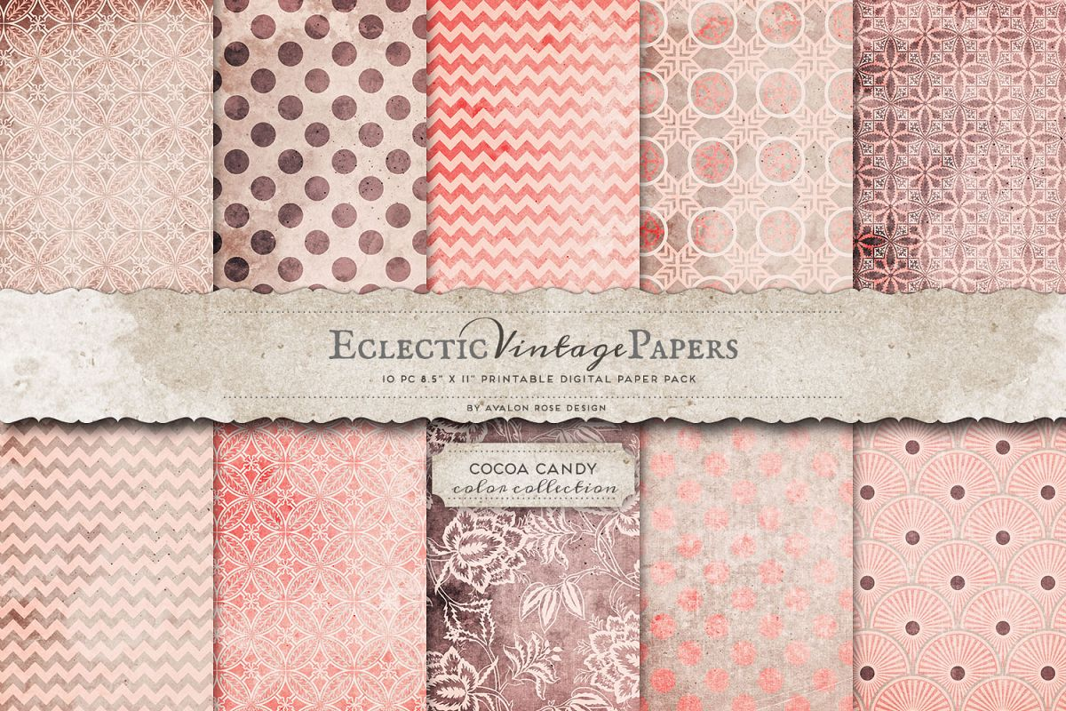 picture about Vintage Printable identified as Common Printable Papers - Cocoa Sweet