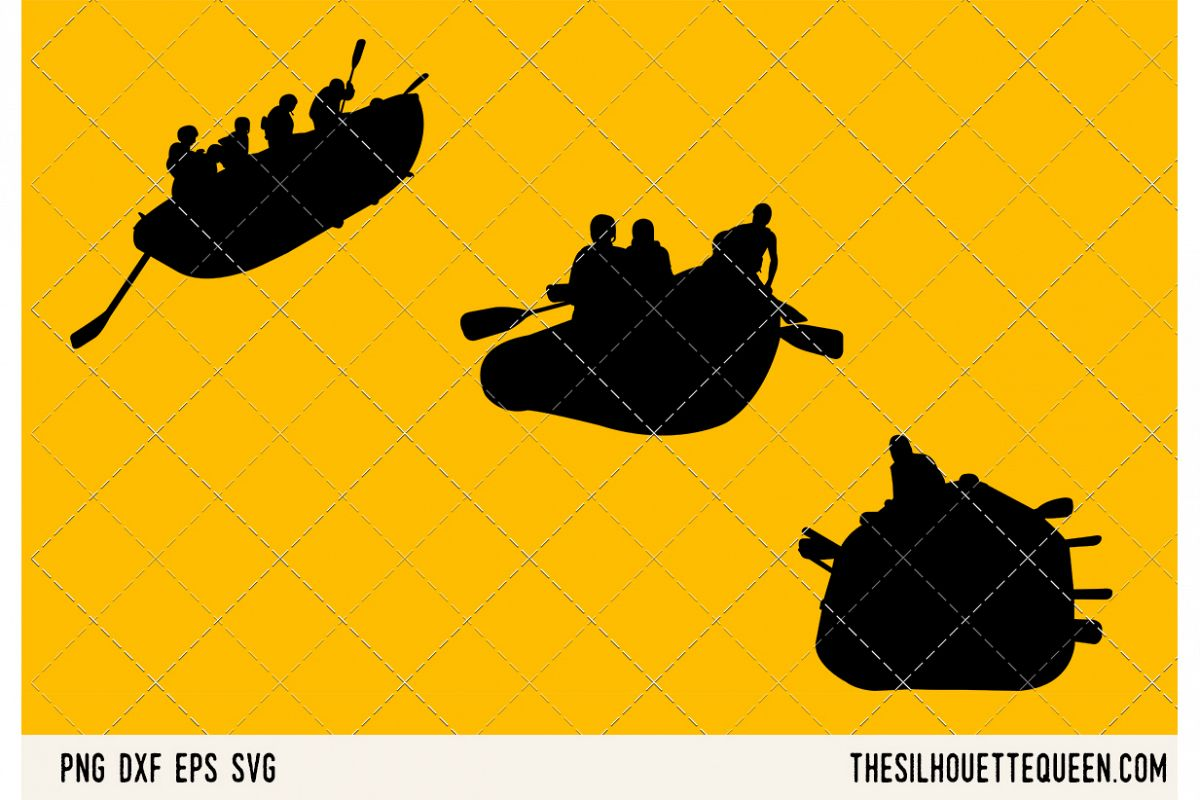 Rafting SVG example image 1