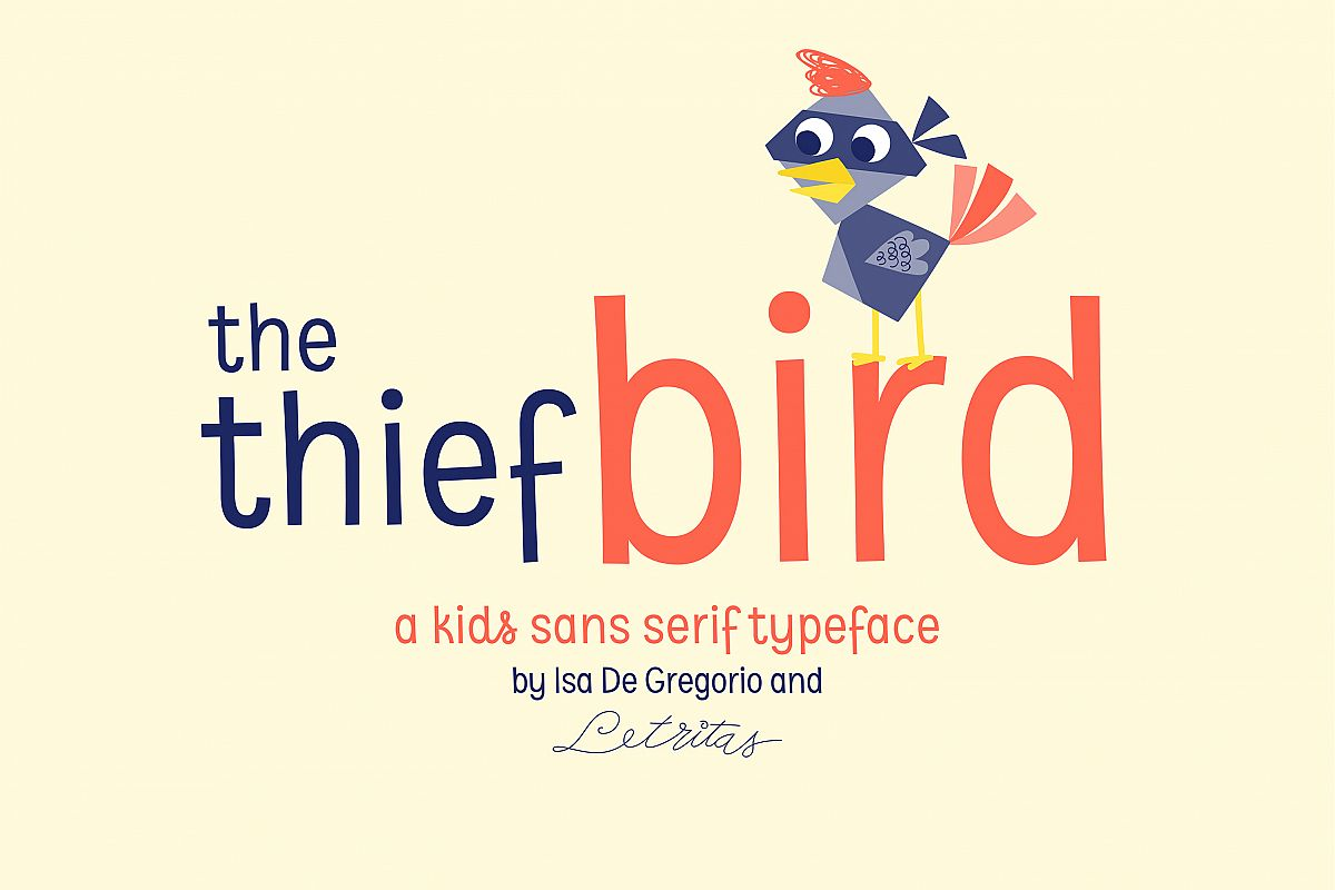 The Thief Bird example image 1