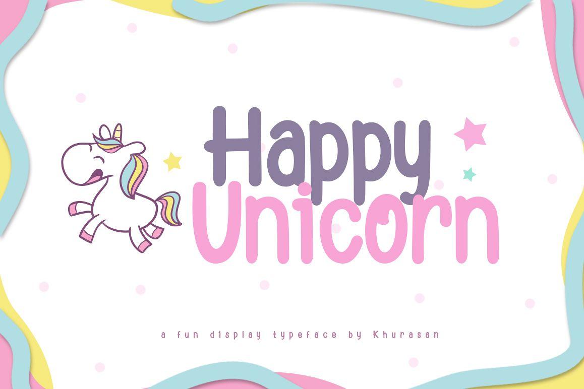 Happy Unicorn example image 1