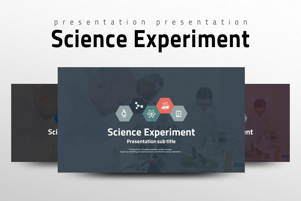 Science Experiment PPT example image 1