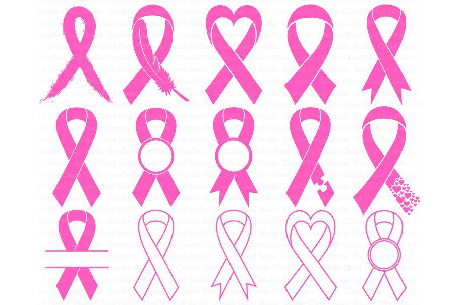 Awareness Ribbon Svg Ribbon Cancer Svg Files Breast Cancer 273389 Cut Files Design Bundles